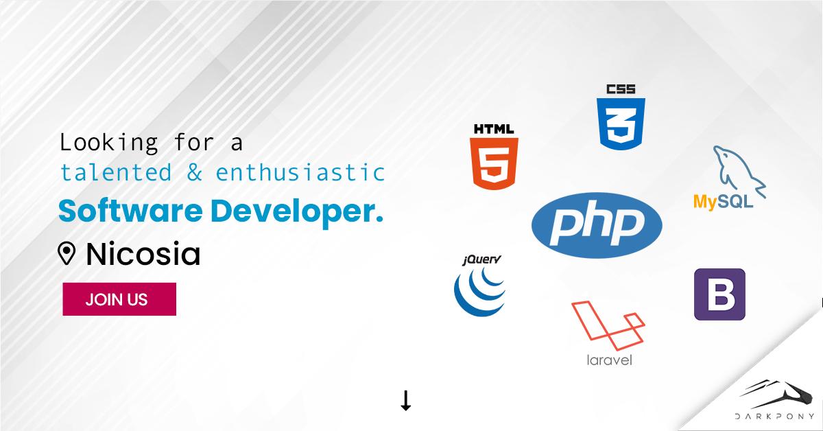Job opening: Software Developer