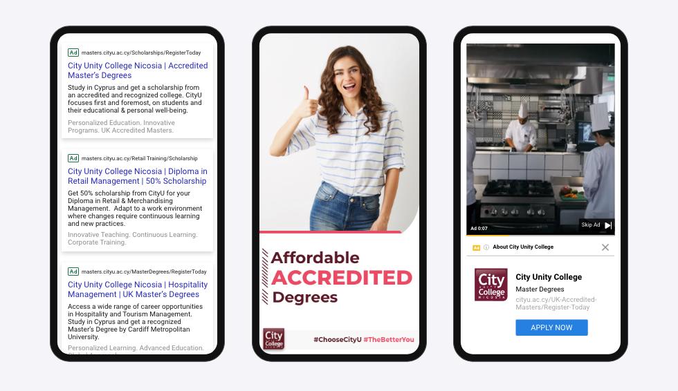 Dp-web continent-CityU–Google Ads
