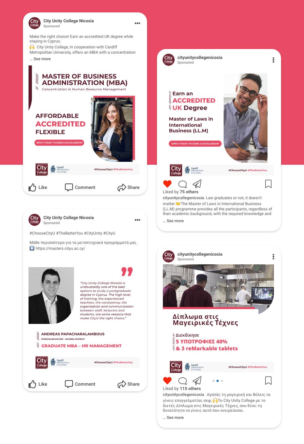 Dp-web continent-CityU–Social Media Management
